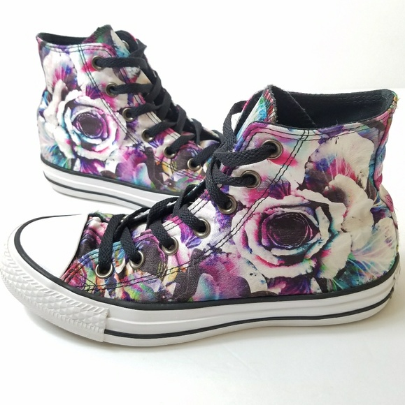 Converse Shoes | Converse Rose Floral